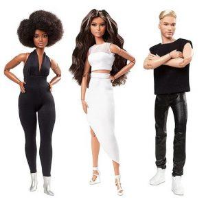 Кукла Барби из серии Barbie Looks (черно-белый стиль) 2021