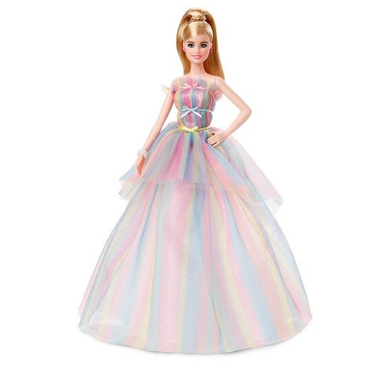 Кукла Barbie Пожелания ко Дню рождения коллекционная GHT42