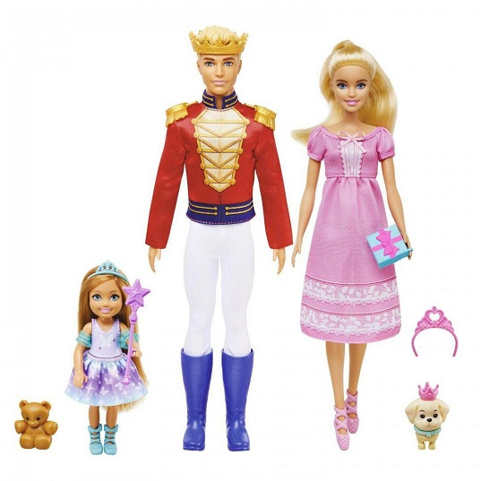 Набор Кукла Барби и Кен в сказочном балете Щелкунчик Barbie GXD61
