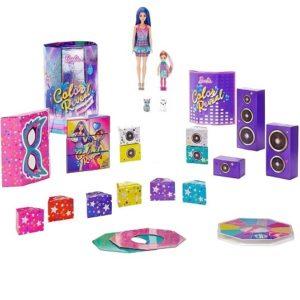 Набор Вечеринка сюрпризов Барби Color Reveal Surprise Party Barbie GXJ88