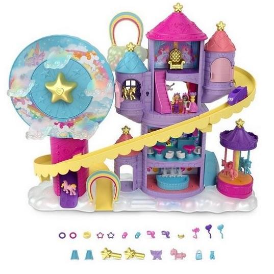 Парк аттракционов для Полли Покет Polly Pocket Rainbow Funland