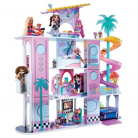 Дом сюрпризов ЛОЛ с мебелью LOL OMG House of Surprises