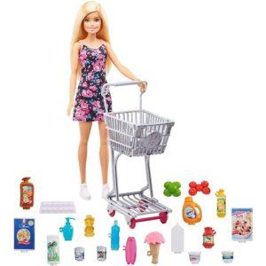 Игровой набор с куклой Барби Время для покупок Barbie GTK94