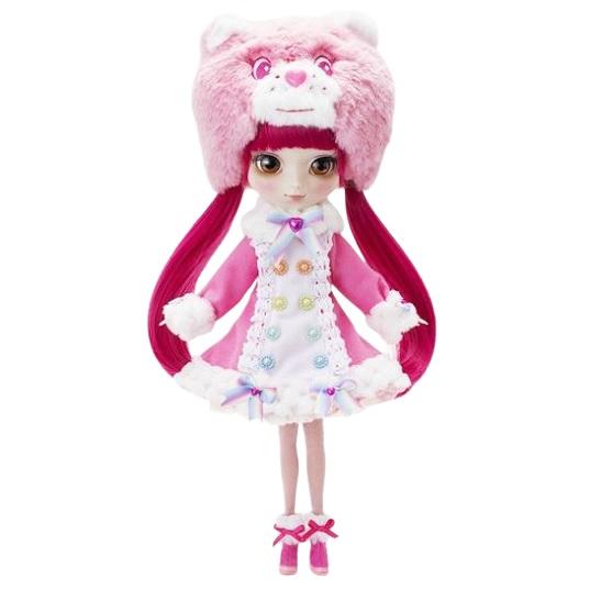 Кукла Cheer Bear малиновые волосы Pullip x Care Bears