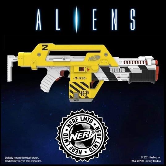 "NERF Бластер из фильма ""Чужой"" Aliens M41-A LMTD F5729"