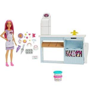 Набор Пекарня (с тестом для лепки) Barbie HGB73