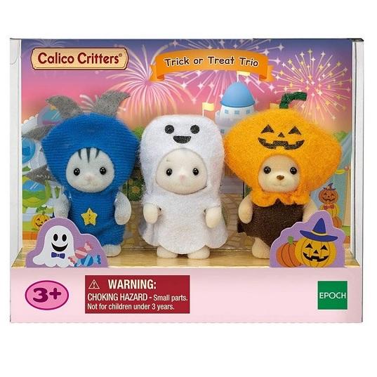 Sylvanian Families Три малыша в костюмах Хэллоуин 5589