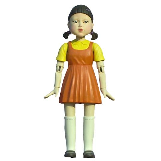Фигурка Жуткая кукла-робот Игра в кальмара Doll Squid Game