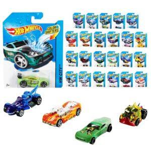 Hot Wheels Машинка меняющие цвет Colour Shifters 1:64