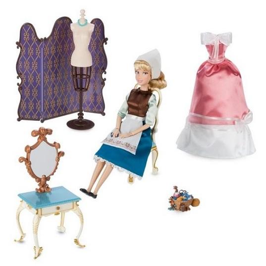 Классическая кукла Золушка и туалетный столик Princess Disney Store