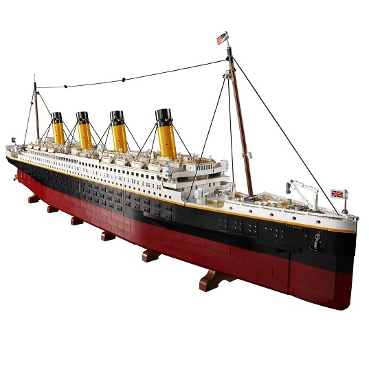 LEGO Creator Expert 10294 Титаник (9 090 деталей) Titanic