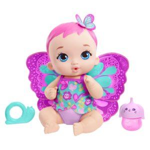 My Garden Baby Пупс с крылышками и бутылочкой Mattel