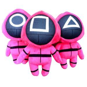 Мягкая игрушка герой Игра в кальмара Pink Plush Squid Game