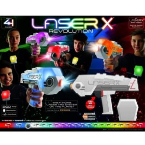 Сверхдальнобойный бластер 2 шт Laser X Revolution